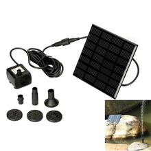 Hot Sale Monocrystalline Silicon mini solar Water Pump Power Panel Kit Fountain Pool Garden Pond Submersible Watering Free Ship