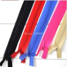 5pcs DIY Invisible long zipper for cushion quilt cover pillow zipper head accessories trousers bag dress skirt clothes 60cm