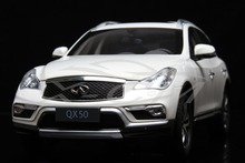 Diecast Car Model Infiniti QX50 1:18 (White) + SMALL GIFT!!!!!!!!!!!