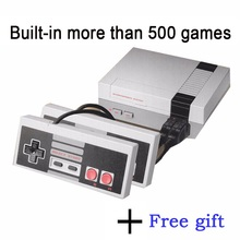 Mini TV Retro Handheld Game Console Video Game Console to Tv 8 Bit Retro Game With More Than 500 Games Double Gamepads PAL&NTSC