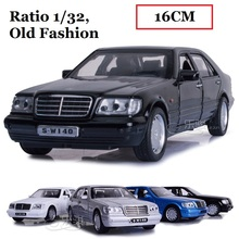 Alloy Classic Benz car model,  Ratio 1:32  Die cast model, Car Model toys Old Fashion