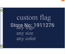 New fashion custom flag any size company advertisement flags and banners 3x5 FT 90X150cm , free shipping(China)