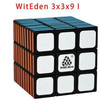 New!WitEden 3x3x9 I AND 3x3x9 II Black/White Magic Cube Black 3*3*9 Puzzle Cubo Toys For Children Educational Toys 339
