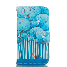 Cases For Samsung S4 Leather Cover Card Slot Phone Shell For Samsung Galaxy S4 SIV i9500 Wallet Stand Holder Coque Funda(China)