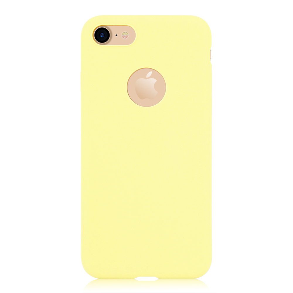 KIP71149Y_1_Matte Pure Color Soft TPU Case for iPhone 7