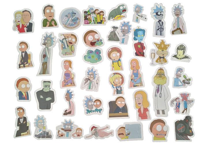 49Pcs/lot Drama Rick and Morty Sticker [ Pack of 3 ]