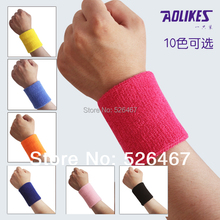 Free sipping 8*7.5cm Towel sweat absorbing basketball football wrist length apologetics badminton sports wrist support
