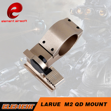Element Airsoft Larue M2 QD Mount Scope Accessory 30mm L-Shaped Comp M2 mount ring EX024-DE(China)