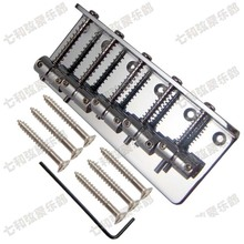 Chrome Vintage Type Top Load 5 Strings Electric Bass Bridge(China)