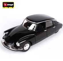Maisto Bburago 1:32 Citroen DS19 The old Car Diecast Model Car Toy Vintage Car Toy With New Box Free Shipping(China)