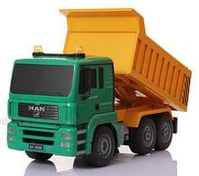 1:20 Scale Remote Control Rc Dump truck construction truck Tipper Dump-car Toy ,rc tip lorry(China)