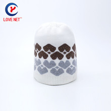 26*25cm elegant jacquard knitted women hats with colorful rhinestones warm thick women winter head caps DS20170143 #170306_x108