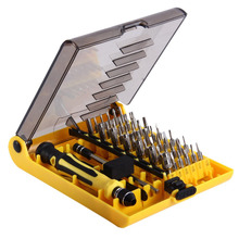 Universal 45 in 1 Professional Hardware Tweezer Screw Driver Tool Kit for Phone PC Electrical Car diagnostic tool