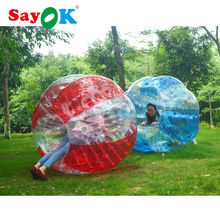 1.0mm 1.8m diameter inflatable bumper ball soccer bubble human inflatable bumper bubble ball buy for sale inflatable ball suit(China)