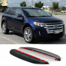 FOR First generation facelift Ford Edge From 2011 to 2014 rearview mirror rain eyebrow Rainproof Flexible Blade Protector