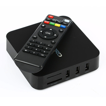 5pcs media player  MX  pro Rockchip RK3229 4K 3D 1GB/8GB Google Android5.1 Marshmallow IPTV TV box PK v88 model