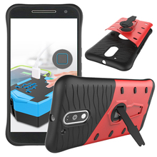 For Coque Motorola MOTO G4/G4 Plus G 4th Gen Case Soft Rubber & Hybrid PC Cover For Motorola MOTO G4 Cellphone Case freeshipping