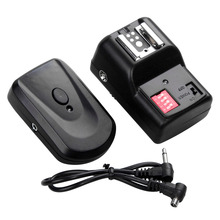16 Channels Flash Light SpeedLite Wireless Trigger Transmitter + Receiver for Canon Nikon DSLR Camera Photo Studio Accessories(China)