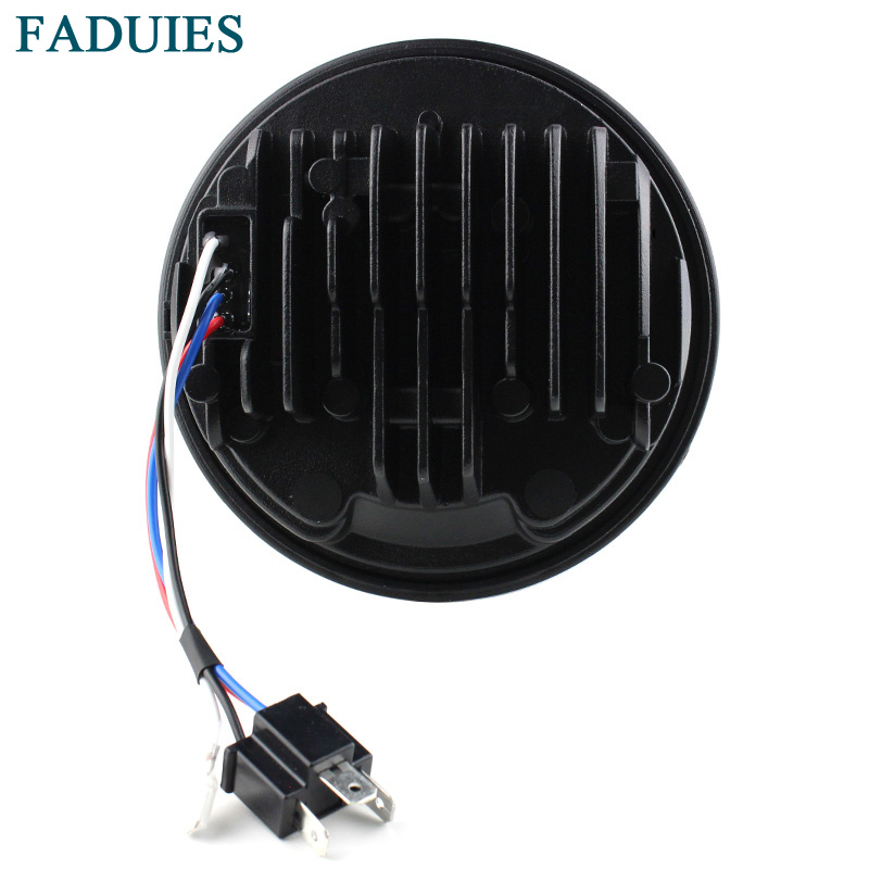 FADUIES 2018 New Motos Accessories 5.75 Adaptive Headlight Motorcycle for Harley 5-34 Motorcycle Black Projector Daymaker (6)