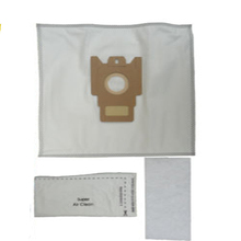 10x Dust Bags and 2x pieces HEPA Filters Replacement for Miele S227i S5 White Pearl S400 G & N(China)