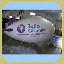 4m/13ft Long Purple Inflatable Blimp with your LOGO for Different Events / Digital printing Inflatable Helium Zeppelin,Airship