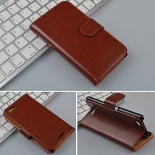 For Sony Xperia E3 D2202 D2203 D2206 D2243 dual D2212 case Wallet Cover with ID Card Slots and Stand 4 Colors in Stock