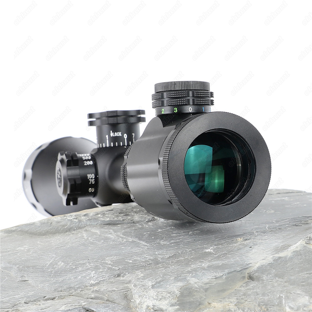 BSA Stealth Tactical STS 4-16X44 IR Hunting Optics Riflescopes Side Parallax Glass Etched Mil Dot Reticle Turrets Lock Scope (3)