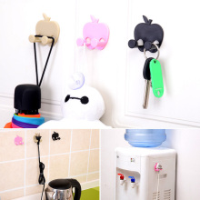 3pcs/set Power cord socket home storage rack sticky hooks holder finishing plug Power Plug Socket Hook Rack Hanger Wall Decor