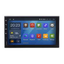 Android 5.1 Head Unit GPS NAVI Universal TIIDA X-trail Frontier sentra MP300 Micra Livina headunit Radio WIFI browser Free map(China)