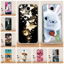 Case for huawei honor 4c pro Case Cover for huawei honor y6 pro case 3D Silicon soft Cover for huawei y6 Pro Holly 2Plus Enjoy 5(China)