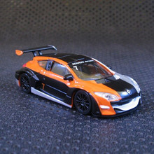 High Simulation Exquisite 1:64 french style Renault Megane Supercar Diecast car Collection Model Gift(China)