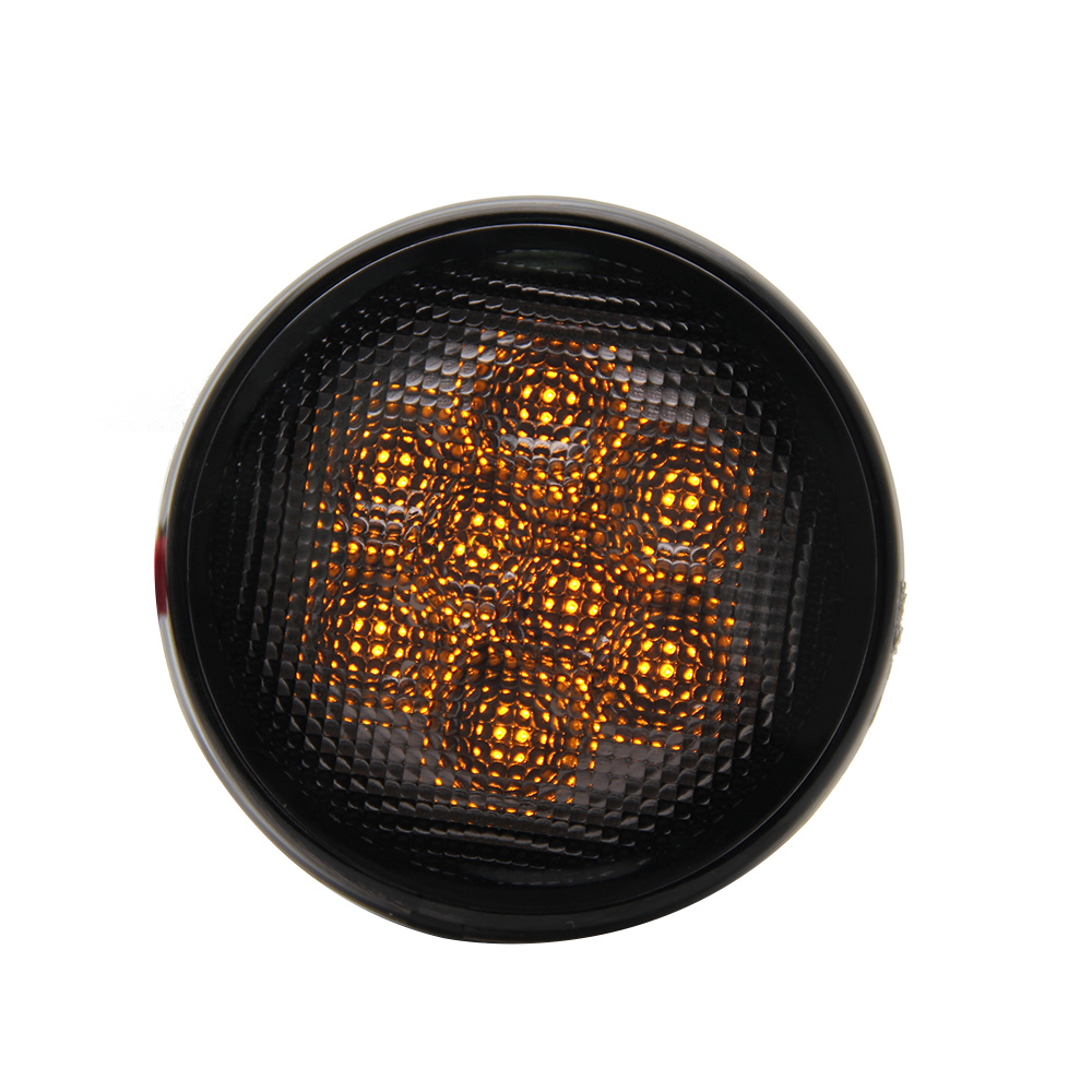 CO LIGHT Truck Led Tail Lights 1W 2000K Abs Dc 12V 24V Led Chip Round Waterproof Rear Light For Auto Replacement Parts<br>