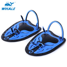Whale Paired Unisex Swimming Adjustable Paddles Fins Webbed Training Pool Diving Hand Gloves Palmes Shoes For Swimming Fins(China)