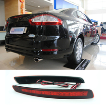Buy Car Rear Bumper Brake Light Reflector Brake Lights LED Warning Lamp Car Styling Ford Mondeo Fushion 4th 2011 2012 2013 Auto for $23.22 in AliExpress store