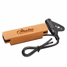 Amumu Acoustic Guitar Pickup for Steel-Stringed Great Sound Easy to Install or Uninstall SP30