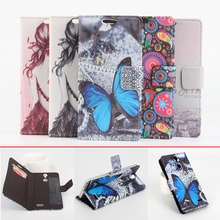 Fashion 5 Colorful Vernee Thor Case Flip Cover Pu Leather Case for Vernee Thor Phone Case Bag with Stand Function & Card Holder