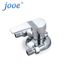 jooe Shower Faucet chrome Bathroom Hot Cold Bath Mixer Valve Wall Mounted Water Tap bath faucet torneira chuveiro ducha(China)