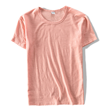 Buy Italy brand t shirt men cotton short sleeve casual t-shirt men summer pink fashion men t shirts pure clothing tshirt mens camisa for $12.99 in AliExpress store