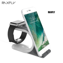 RAXFLY Desktop Stand Dock Holder For Huawei Mate 9 Xiaomi Mi5  Redmi 3 Cool Bracket Cradle Holder For i Watch For iPhone Tablet