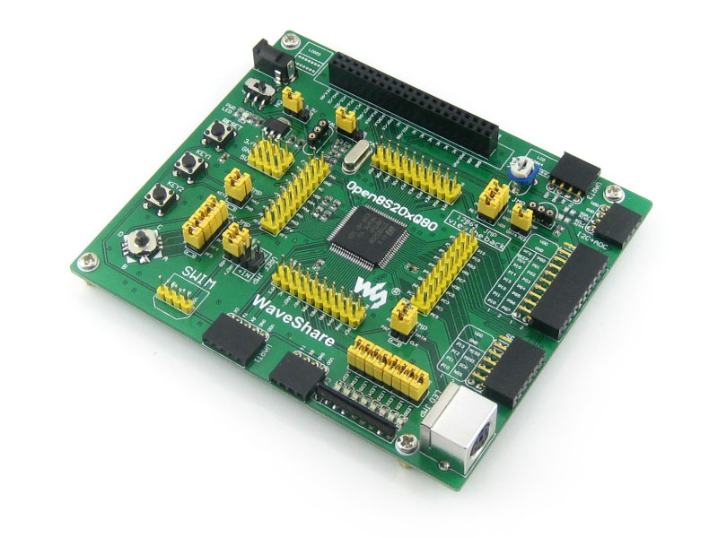 module STM8S208MB STM8S208 STM8S Evaluation Development Board + Full I/O Expansions=Open8S208Q80 Standard<br>