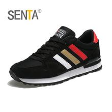 SENTA New Classics Style Men Running Shoes Outdoor Walking Jogging Sneakers Lace Up Mesh Upper Athletic Shoes Fast Free Shipping(China)