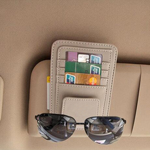 car Stickers sun glasses case name card credit For Audi VW BMW Ford Fiat Mazda Toyota Peugeot Volvo Lexus Maserati Mitsubishi