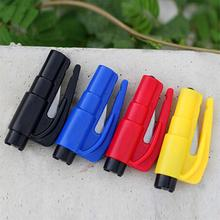 1PCS Mini Safety Hammer Car Life-saving Escape Hammer Window Keychain Car Window Broken Emergency Glass Breaker Random Color(China)
