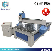 UNICH high quality/ with dust collector router machine/ cnc wood carving machine/3d cnc router(China)