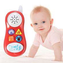 1 Pc Baby Learning Study Musical Sound Cell Phone Toy Children Music Development Educational Toys 4 Colors Randomly Send!!!