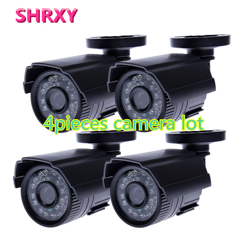 HD 4pieces CCTV Camera 700TVL IR Cut Filter 24 Hour Day/Night Vision Video Outdoor Waterproof IR Mini Surveillance Camera lot<br><br>Aliexpress