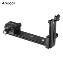 Andoer L200 Telephoto Lens Support Long Lens Holder Bracket Compatible for Arca-Swiss Sunwayfoto RRS Benro Kirk Markins Mount