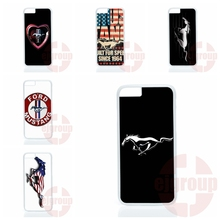 Ford Mustang Logo For Apple iPhone 7 Plus For Huawei Honor 5C 5X 7 V8 P9 Lite Nexus 6P Cover Case