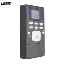 LEORY LED Digital Mini FM Radio Frequency Modulation Portable Signal Processing Receiver In- Ear Earphone 3.5mm