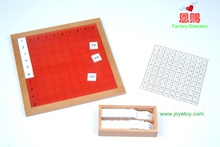5021 Pythagoras Board montessori materials set home school educational earning toys for children wooden toys(China)